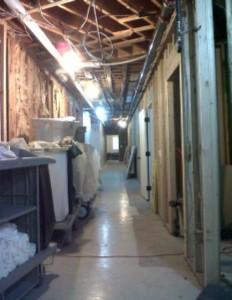 CL Hallway Work