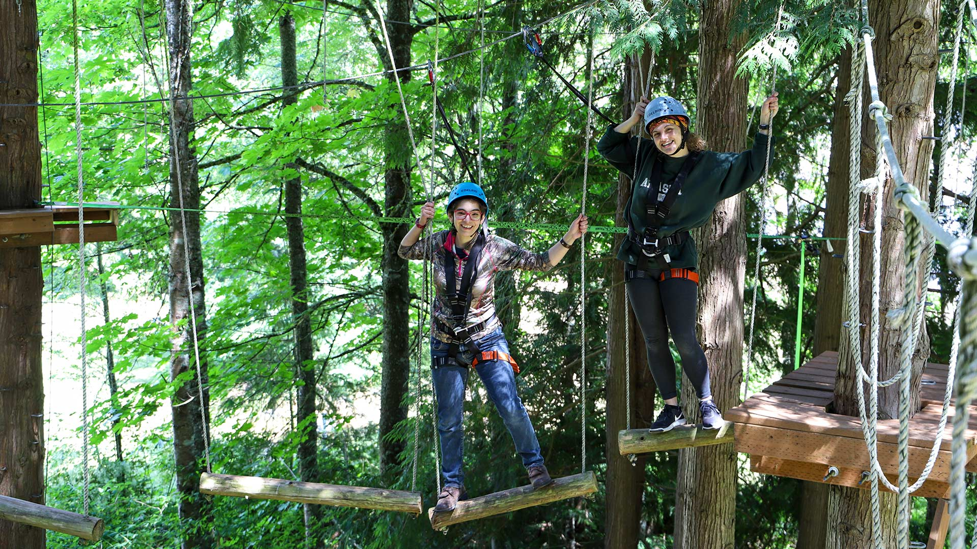 Challenge Course - Group Bonding Experience or Team Building